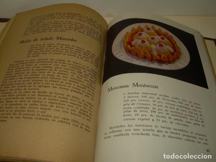 Libros antiguos: MIS MEJORES RECETAS DE PASTELERIA...AÑO 1.940 - Foto 9 - 95966531
