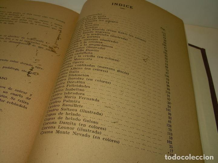 Libros antiguos: MIS MEJORES RECETAS DE PASTELERIA...AÑO 1.940 - Foto 11 - 95966531