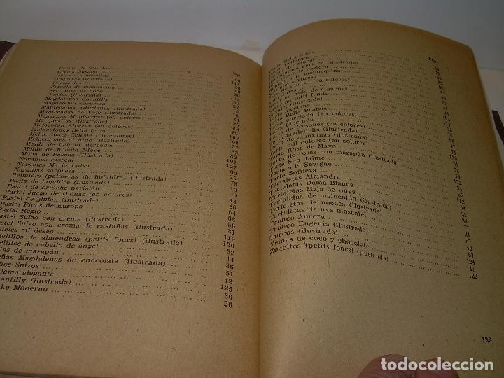 Libros antiguos: MIS MEJORES RECETAS DE PASTELERIA...AÑO 1.940 - Foto 12 - 95966531
