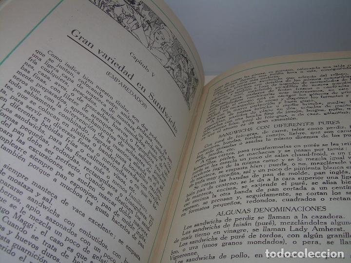 Libros antiguos: LOS ENTREMESES Y LA HORA DEL TÉ....AÑO...1.935 - Foto 14 - 95966851