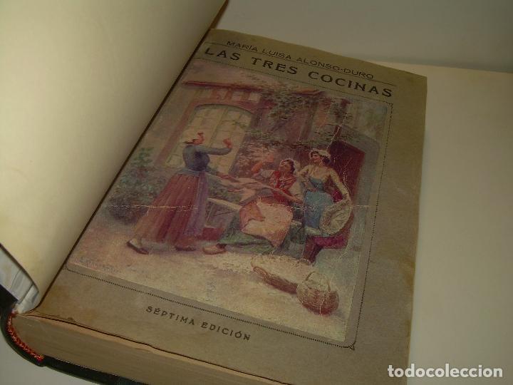 Libros antiguos: LAS TRES COCINAS.....AÑO..1.926 - Foto 2 - 95967303