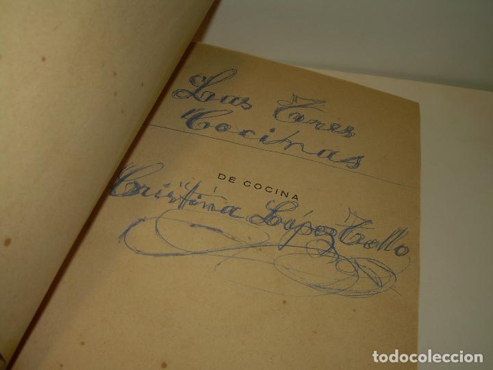 Libros antiguos: LAS TRES COCINAS.....AÑO..1.926 - Foto 3 - 95967303