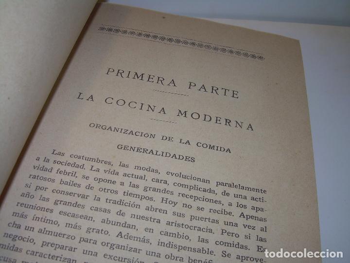 Libros antiguos: LAS TRES COCINAS.....AÑO..1.926 - Foto 6 - 95967303