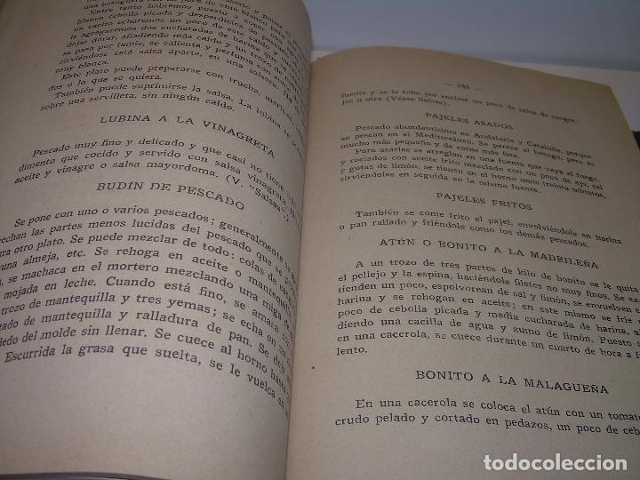 Libros antiguos: LAS TRES COCINAS.....AÑO..1.926 - Foto 8 - 95967303