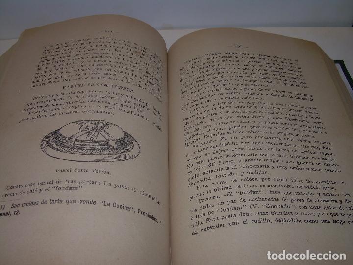Libros antiguos: LAS TRES COCINAS.....AÑO..1.926 - Foto 11 - 95967303