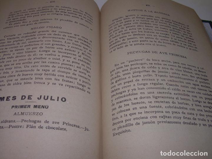 Libros antiguos: LAS TRES COCINAS.....AÑO..1.926 - Foto 13 - 95967303