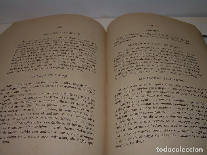 Libros antiguos: LAS TRES COCINAS.....AÑO..1.926 - Foto 14 - 95967303