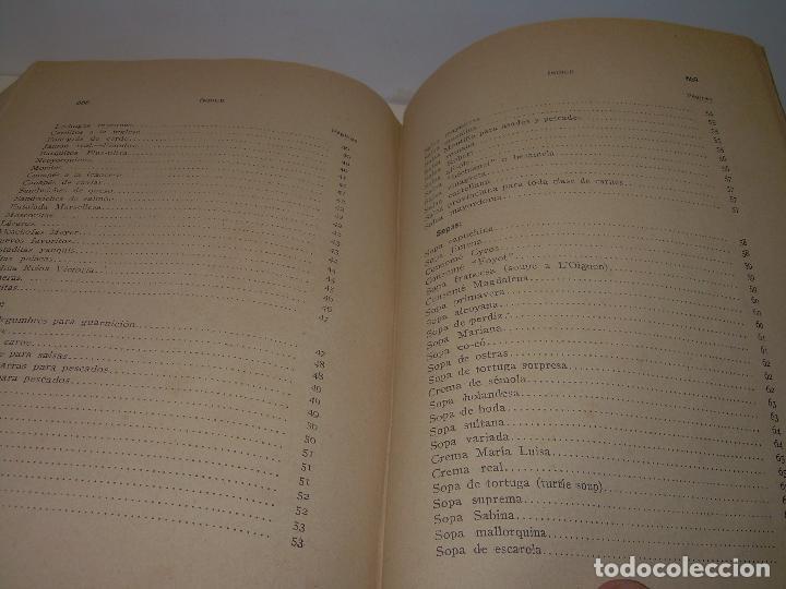 Libros antiguos: LAS TRES COCINAS.....AÑO..1.926 - Foto 16 - 95967303