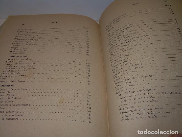 Libros antiguos: LAS TRES COCINAS.....AÑO..1.926 - Foto 19 - 95967303