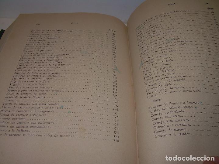 Libros antiguos: LAS TRES COCINAS.....AÑO..1.926 - Foto 20 - 95967303