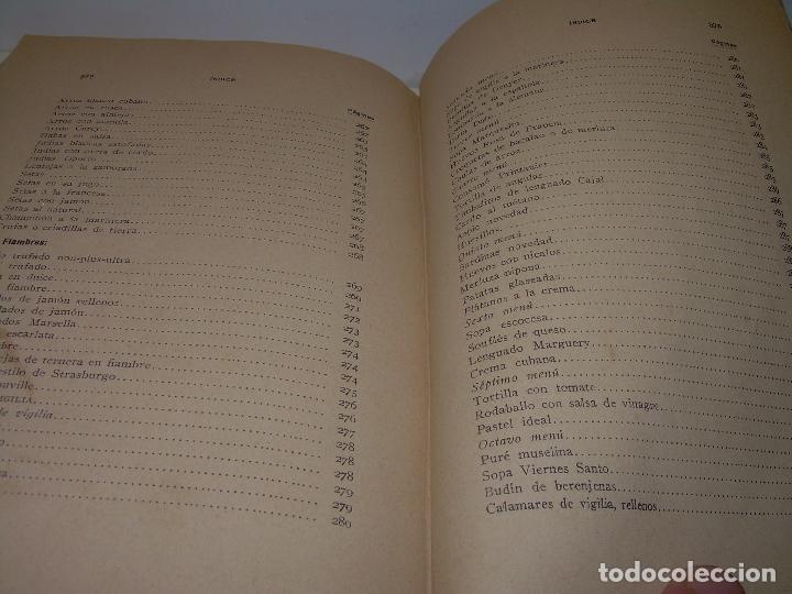 Libros antiguos: LAS TRES COCINAS.....AÑO..1.926 - Foto 23 - 95967303