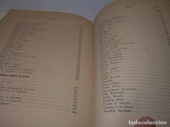 Libros antiguos: LAS TRES COCINAS.....AÑO..1.926 - Foto 25 - 95967303