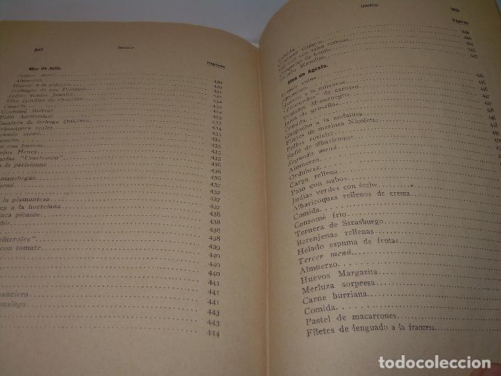 Libros antiguos: LAS TRES COCINAS.....AÑO..1.926 - Foto 28 - 95967303