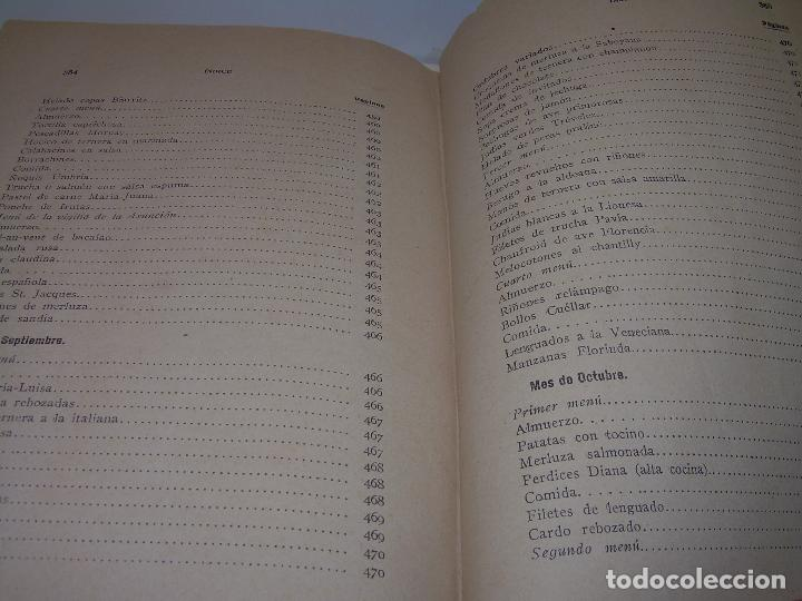 Libros antiguos: LAS TRES COCINAS.....AÑO..1.926 - Foto 29 - 95967303