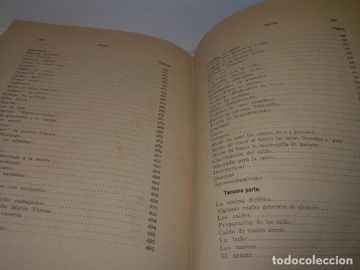 Libros antiguos: LAS TRES COCINAS.....AÑO..1.926 - Foto 30 - 95967303