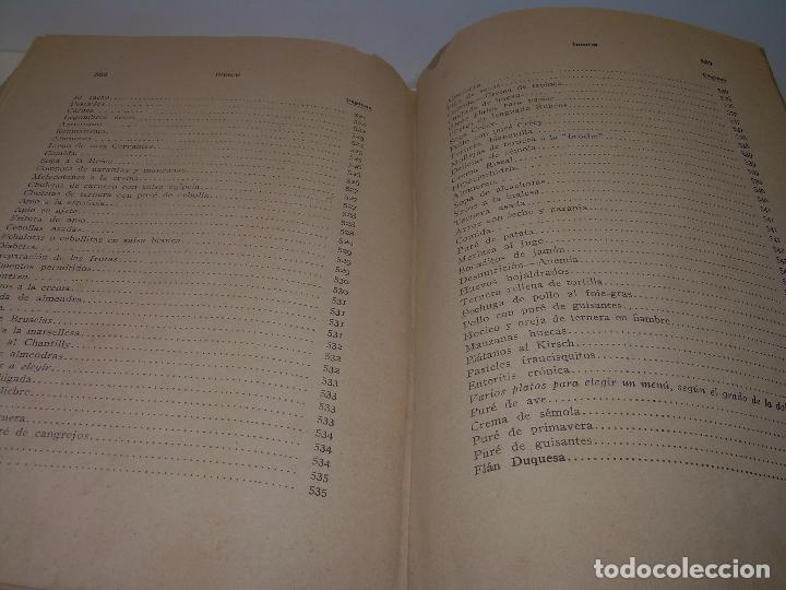 Libros antiguos: LAS TRES COCINAS.....AÑO..1.926 - Foto 31 - 95967303