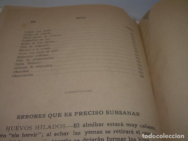 Libros antiguos: LAS TRES COCINAS.....AÑO..1.926 - Foto 32 - 95967303