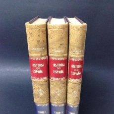 Libros antiguos: HISTORIA GENERAL DE ESPAÑA POR EL PADRE MARIANA. 1852. Lote 95989491