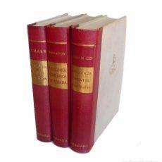 Libros antiguos: 1960 - MITOLOGÍA CLÁSICA, ORIENTAL Y GERMÁNICA - 3 GRANDES TOMOS ILUSTRADOS - MITOS - DIOSES -HÉROES. Lote 95994979