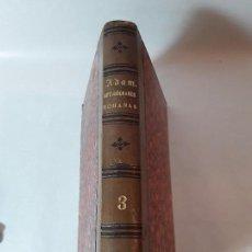Libros antiguos: ANTIGÜEDADES ROMANAS- ALEJANDRO ADAM - JOSE ARRIAGA Y BAUCIS - TOMOIII - VALENCIA 1834.. Lote 96003087