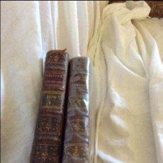 Libros antiguos: DISCOURS SUR L'HISTOIRE UNIVERSELLE LE DAUPHIN PARIS 1766 TOME I TOME II. Lote 96020983