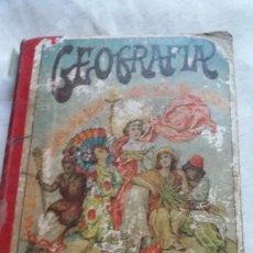 Libros antiguos: GEOGRAFIA PARA NIÑOS. Lote 96035739