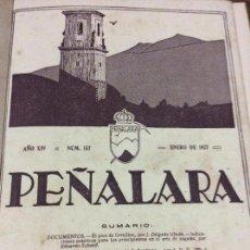 Libros antiguos: REVISTA PEÑALARA - BOLETÍN ILUSTRADO - PRIMERA EDICIÓN - COMPLETA - TODOS NÚMEROS ENTRE 1920 Y 1929. Lote 96038979