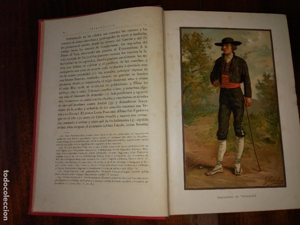 Libros antiguos: Valladolid, Palencia y Zamora. España, sus Monumentos y Artes, Naturaleza e Historia. 1885 - Foto 5 - 96088323