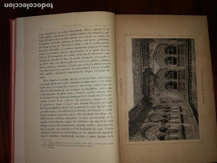 Libros antiguos: Valladolid, Palencia y Zamora. España, sus Monumentos y Artes, Naturaleza e Historia. 1885 - Foto 6 - 96088323