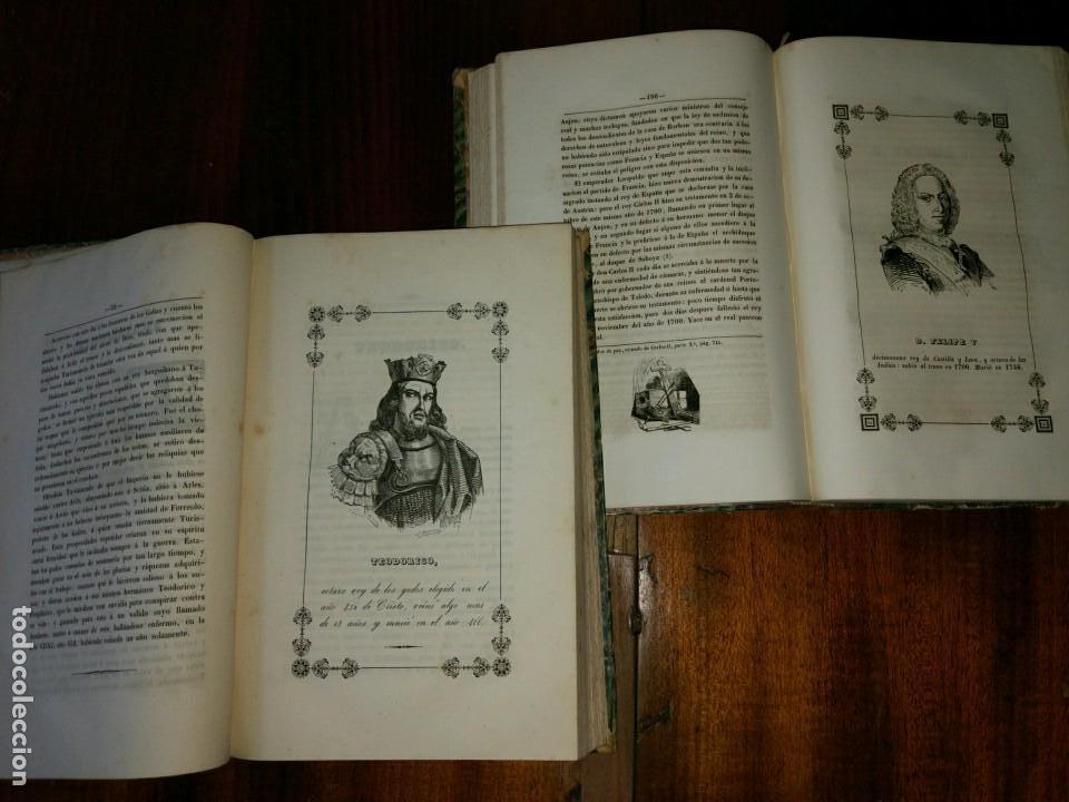 Libros antiguos: Galería Regia y Vindicación de los Ultrajes Estranjeros. 4 tomos en 2 vol. Wenceslao Ayguals.1843 - Foto 4 - 96110995