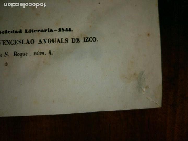 Libros antiguos: Galería Regia y Vindicación de los Ultrajes Estranjeros. 4 tomos en 2 vol. Wenceslao Ayguals.1843 - Foto 8 - 96110995