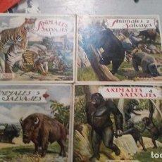 Libros antiguos: EL REINO ANIMAL PARA NIÑOS. 15 TOMOS.. Lote 96143383