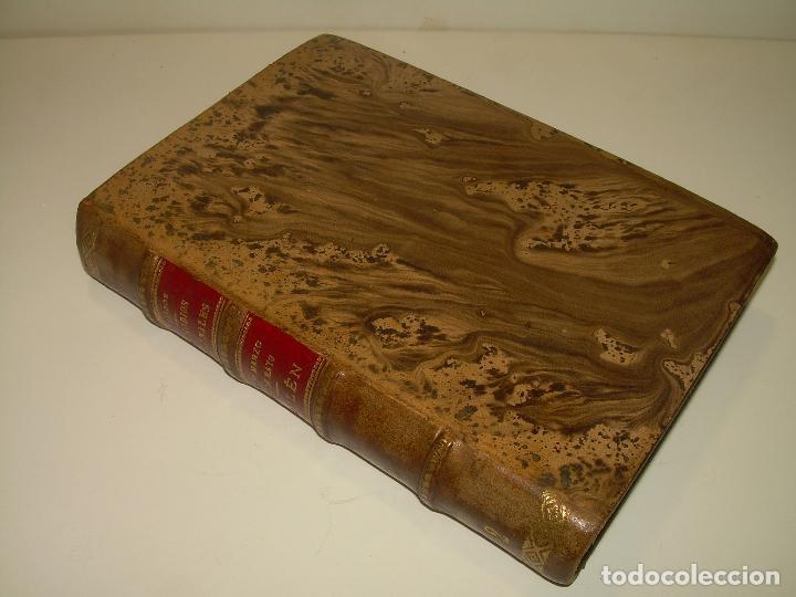Libros antiguos: LIBRO TAPAS DE PIEL.EPISODIOS NACIONALES.DEL 19 DE MARZO AL 2 DE MAYO. Y BAILEN.EN EL MISMO TOMO. - Foto 4 - 96172263
