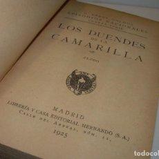 Libros antiguos: LIBRO TAPAS DE PIEL.EPISODIOS NACIONALES. DUENDES DE LA CAMARILLA Y REVOLUCION JULIO. EN MISMO TOMO. Lote 96174711