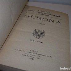 Libros antiguos: LIBRO TAPAS DE PIEL.EPISODIOS NACIONALES. GERONA Y CADIZ. DOS OBRAS EN EL MISMO TOMO. AÑO 1.933. Lote 96175519