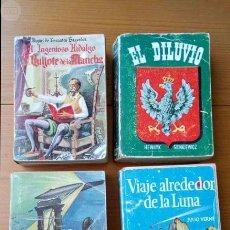 Libros antiguos: 4 LIBROS DE LA COLECCIÓN PULGA DE 384 PAGINAS. Lote 96194099