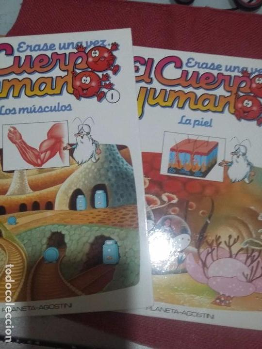 ÉRASE UNA VEZ EL CUERPO HUMANO (Libros Antiguos, Raros y Curiosos - Literatura Infantil y Juvenil - Otros)