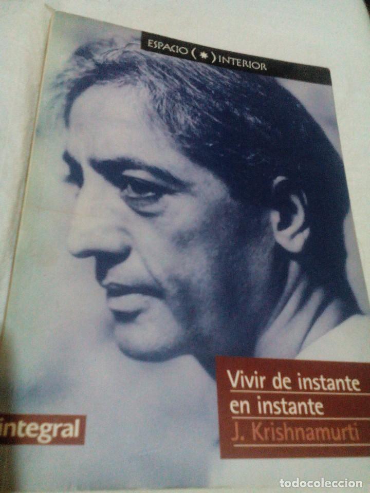 C6___LIBRO VIVIR DE INSTANTE MIDE 21X13X1 (Libros antiguos (hasta 1936), raros y curiosos - Literatura - Narrativa - Otros)