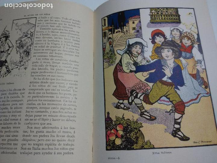 Libros antiguos: El mundo de los niños. Ramon Sopena - Foto 3 - 96237947