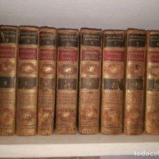 Libros antiguos: DIODOROS. DIODORI SICULI. BIBLIOTHECAE HISTORICAE. 10 DE 11 VOL. (1807). Lote 96272147