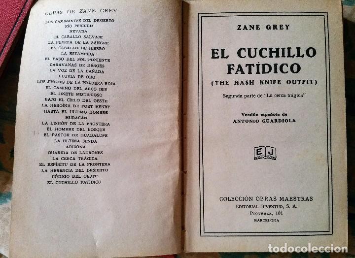 Libros antiguos: 5 novelas de zane grey 1ª edición - Foto 3 - 96334675