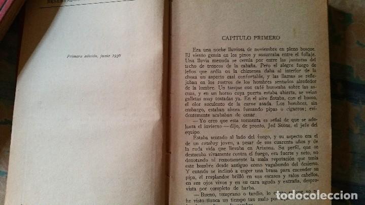 Libros antiguos: 5 novelas de zane grey 1ª edición - Foto 4 - 96334675