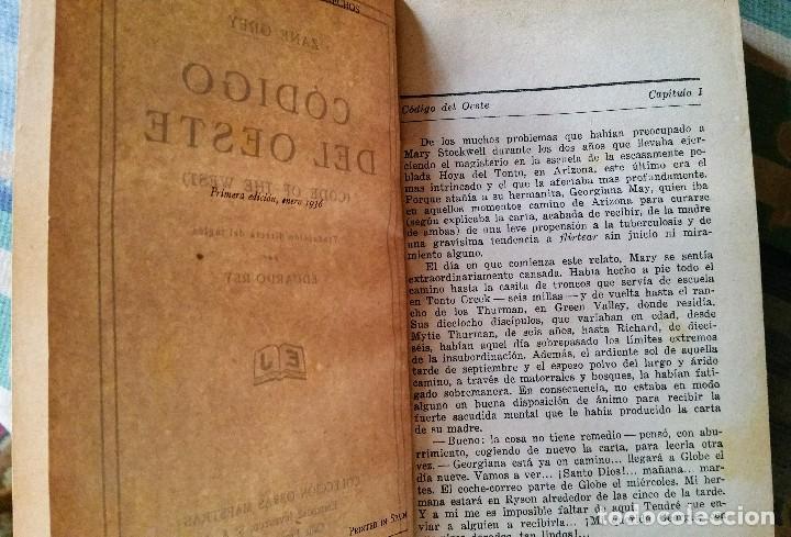 Libros antiguos: 5 novelas de zane grey 1ª edición - Foto 7 - 96334675