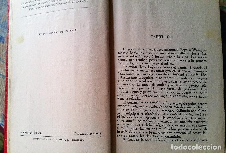 Libros antiguos: 5 novelas de zane grey 1ª edición - Foto 10 - 96334675