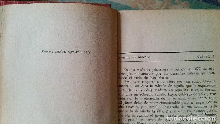 Libros antiguos: 5 novelas de zane grey 1ª edición - Foto 15 - 96334675