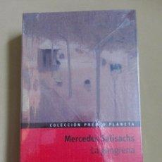 Libros antiguos: LA GANGRENA MERCEDES SALISACHS PREMIO PLANETA 1975 NUEVO PRECINTADO. Lote 96354763