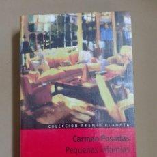 Alte Bücher - Pequeñas infamias Carmen Posadas Premio Planeta 1998 Nuevo precintado - 96354991