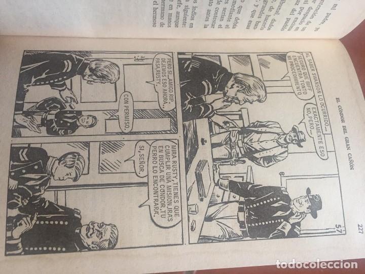 Libros antiguos: RIN TIN TIN 1 EDICION EL CONDOR DEL GRAN CAÑON - Foto 6 - 96355547