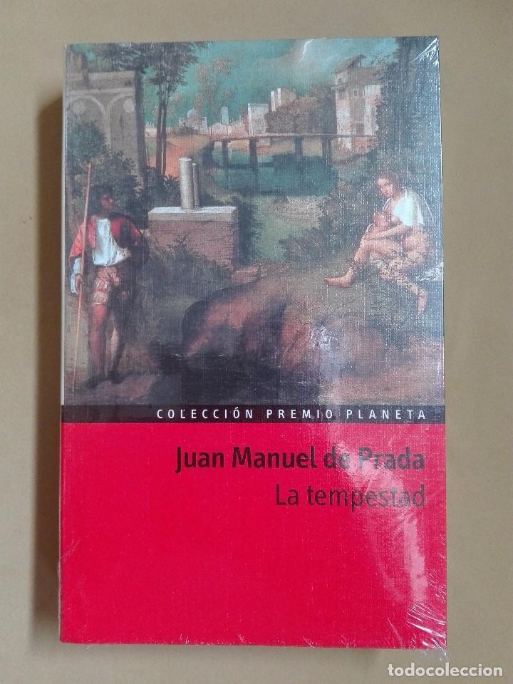 LA TEMPESTAD JUAN MANUEL DE PRADA PREMIO PLANETA 1997 NUEVO PRECINTADO (Libros antiguos (hasta 1936), raros y curiosos - Literatura - Narrativa - Otros)