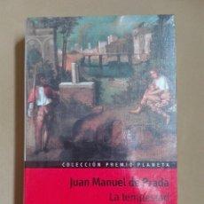 Libros antiguos: LA TEMPESTAD JUAN MANUEL DE PRADA PREMIO PLANETA 1997 NUEVO PRECINTADO. Lote 96355599